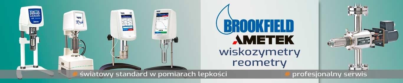 Wiskozymetry i reometry Brookfield