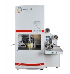Reometr/wulkametr Prescott Instruments Rheoline MDR z autosamplerem AutoLoad